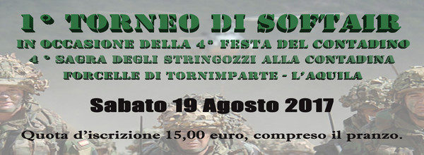 1° torneo di softair